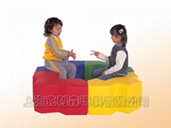 福祿貝爾,益智玩具,進口玩具,軟包運動系列,積木