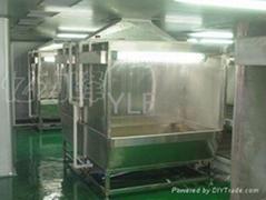 環保型不鏽鋼噴油櫃水濂櫃