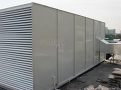 供鮮風系統無塵車間彩鋼板隔離房