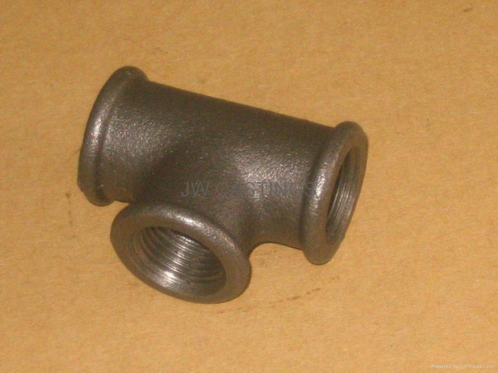 Malleable cast iron pipe fittings din en std china