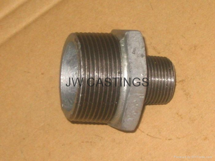Malleable cast iron pipe fittings bspt psi china