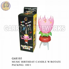 Music Birthday Candle