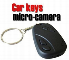 covert car key camera
