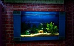 玻璃雕刻系列壁挂鱼缸