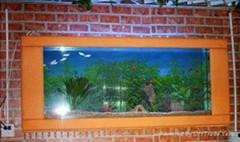 都市风情壁挂鱼缸