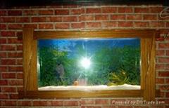 釉木系列壁挂鱼缸