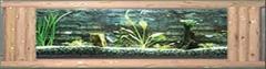 原木本色系列壁挂鱼缸