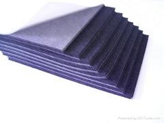 橡塑发泡慢回弹带胶海绵(密封垫、橡塑发泡)
