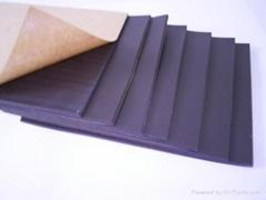 PVC聚氯乙烯软质带胶海绵(密封垫、橡塑发泡