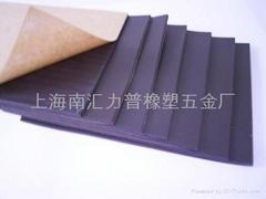 PVC聚氯乙烯带胶海绵 密封垫 橡塑 模塑