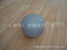 PU发泡球 玩具PU注塑型发泡 海绵 橡塑 1