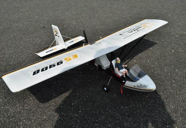 """Sell beginner Plane """" Drifter Ultralight"""" 2.4 G 4ch ..."""