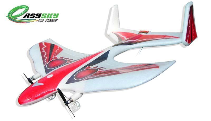 Sell Mini Radio Controlled 2CH RC Aerobatic Airplane For Yard Flyer ES9801 1