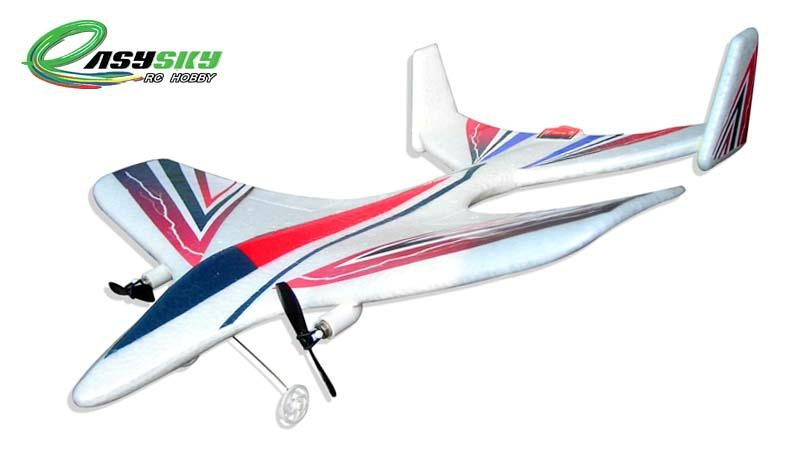 Sell 2CH RC Airplanes With 3.7V 200mAh Li-poly Battery For Park Flyer ES9802 1