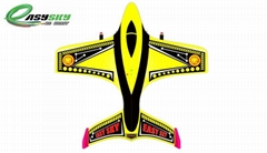 Sell 2 Channel Small Yellow RC Airplane With 3.7V 200mAh Li-poly Battery ES9802