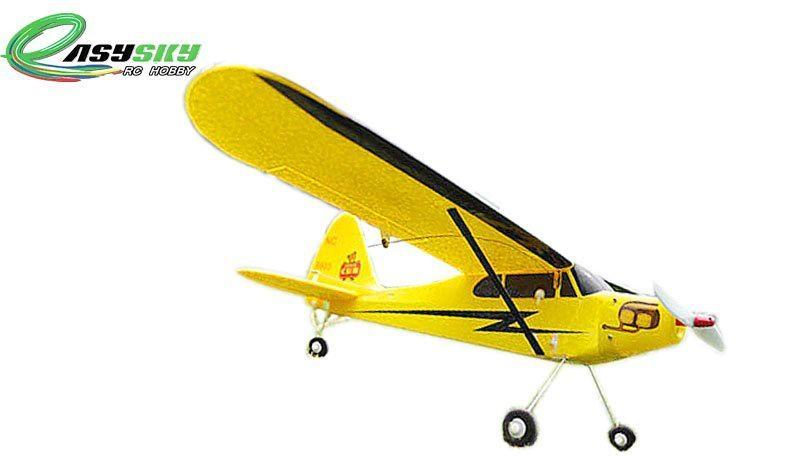 Sell 2.4Ghz Anti - Crash Mini Piper J3 Cub RTF RC Planes ES9903A 4