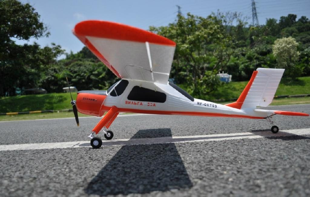Beginner 4ch RC Airplanes / 2 4 Ghz planes PZL Wilga 2000