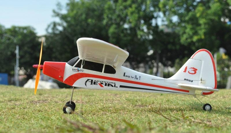 2 4G 4ch Radio Controlled Airplane Piper J3 Cub Brushless EPO RTF