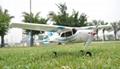 Micro 2.4G 4ch Cessna Model RC Plane Brushless EPO RTF (ES9901A)  2