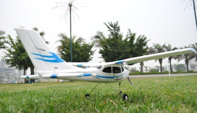 Micro 2.4G 4ch Cessna Model RC Plane Brushless EPO RTF (ES9901A)  4