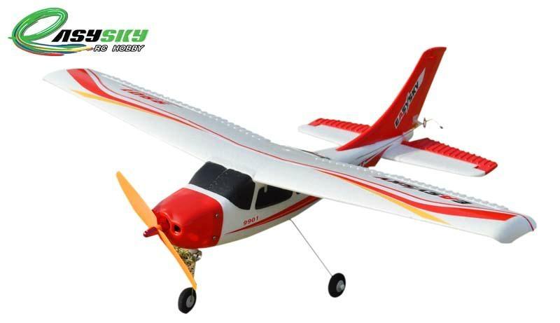 2.4G 4ch Mini Cessna Beginner RC Hobby Brushless EPO RTF (ES9901B)  1