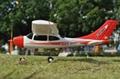2.4G 4ch Mini Cessna Beginner RC Hobby Brushless EPO RTF (ES9901B)  2