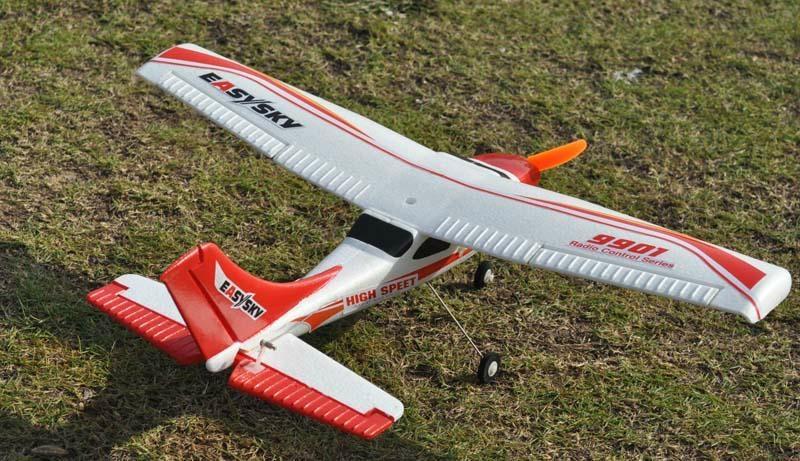 2.4G 4ch Mini Cessna Beginner RC Hobby Brushless EPO RTF (ES9901B)  3