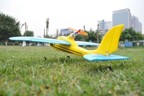 "Remote Control Sport Plane ""Dolphin Glider"" 2.4 G 4ch Brushless EPO RTF(ES9902A) 4"