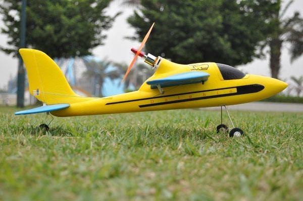 "Remote Control Sport Plane ""Dolphin Glider"" 2.4 G 4ch Brushless EPO RTF(ES9902A) 5"