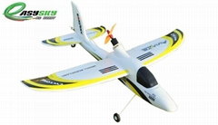 2.4Ghz 4ch RC Airplanes Sport Plane Dolphin Glider Brushless EPO RTF (ES9902C)