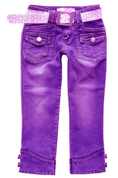 歐美時尚女裝牛仔中褲(牛仔制衣廠) 1
