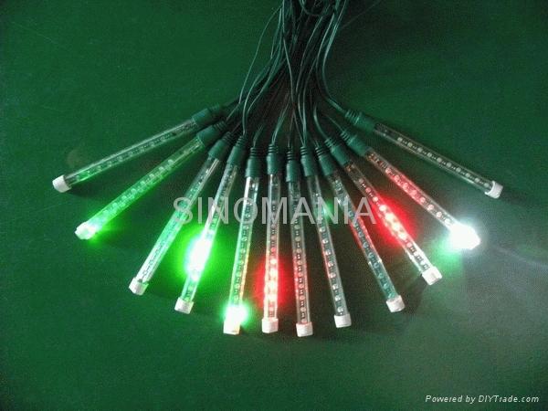 迷你型LED流星雨灯 1
