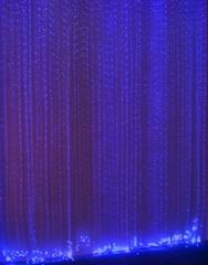 optical fiber chandelier