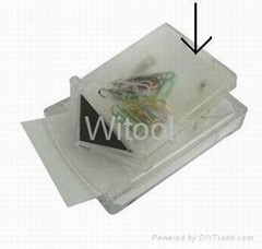 Memo Cube With Clip Magnet Box