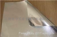 Double-sided aluminum foil glass fiber fabric