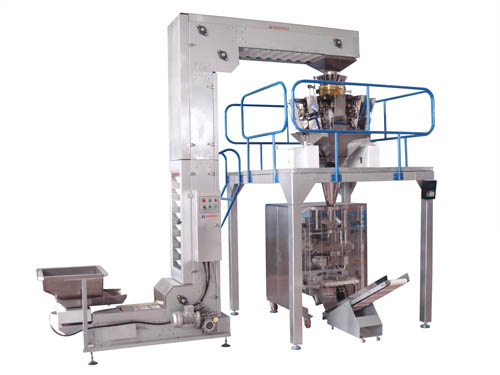 Automatic Vertical Weighing and Packaging Machine  1