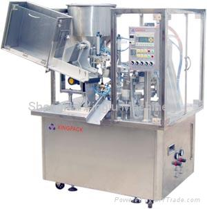 Automatic Soft Tube Filling and Sealing Machine  1