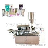 Automatic Soft Tube Filling and Sealing Machine  2