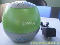 ionizer/Air Purifier/oxygen bar Size: dia.16 x 15.5cm