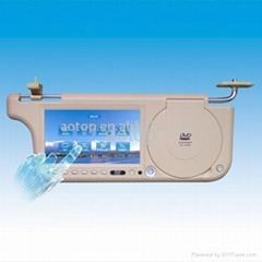 Sun-visor LCD Monitor DVD
