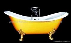 Dual endend slipper tub
