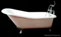Vintage Cast iron bathtub