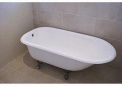 roll top cast iron bathtub