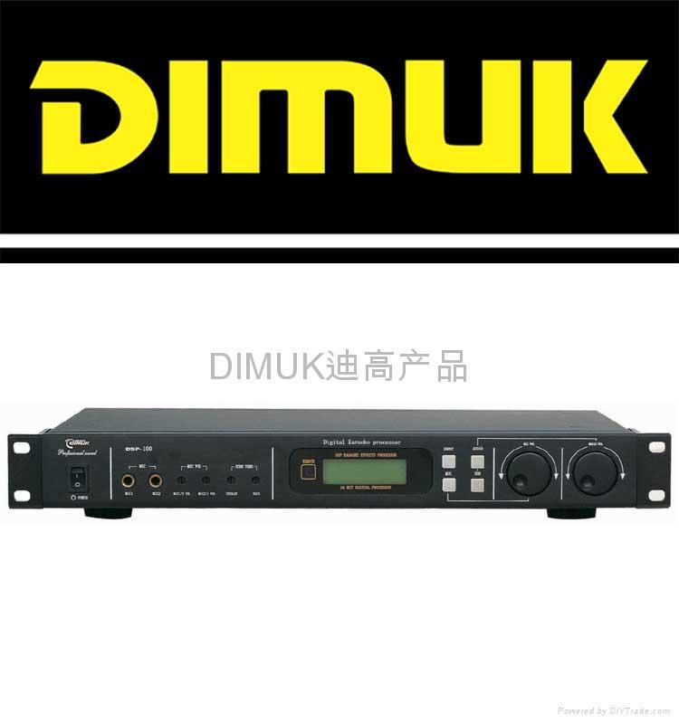 2通KTV效果器卡拉OK效果器(DSP-100)