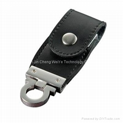 3.0USB Leather USB Flash Drive