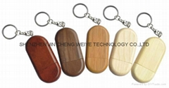 Wooden(Bamboo) USB Flash Drive