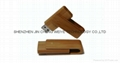 Wood or bamboo USB Flash Drive