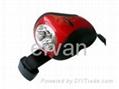 LED Mini Dynamo Torch Light by Cranking/ LED Flashlight 1