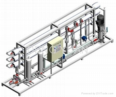 High Capacity Industrial Reverse Osmosis System