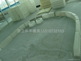 遵义铜仁路沿石塑料模具 4
